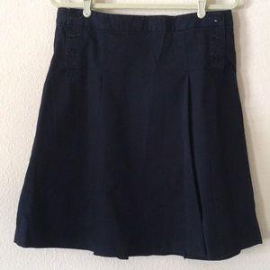 J.Crew Sailor Style Weathered Chino Twill Skirt
